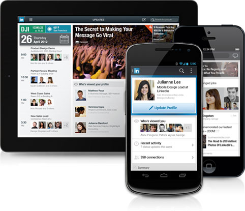 LinkedIn Mobile Tips for Lawyers
